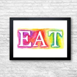 EAT FRAME
