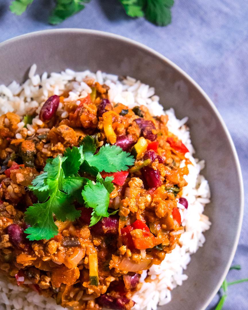 Vegetarian Chili Con Carne Recipe