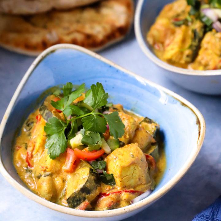 Sweet & Tasty Vegan Tofu Curry