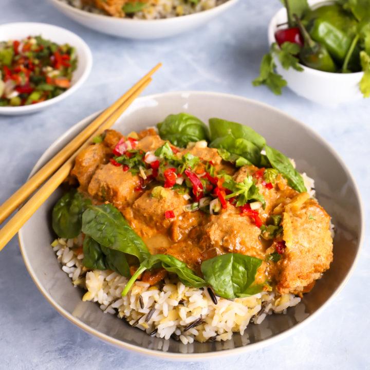Delicious Vegan Katsu Curry