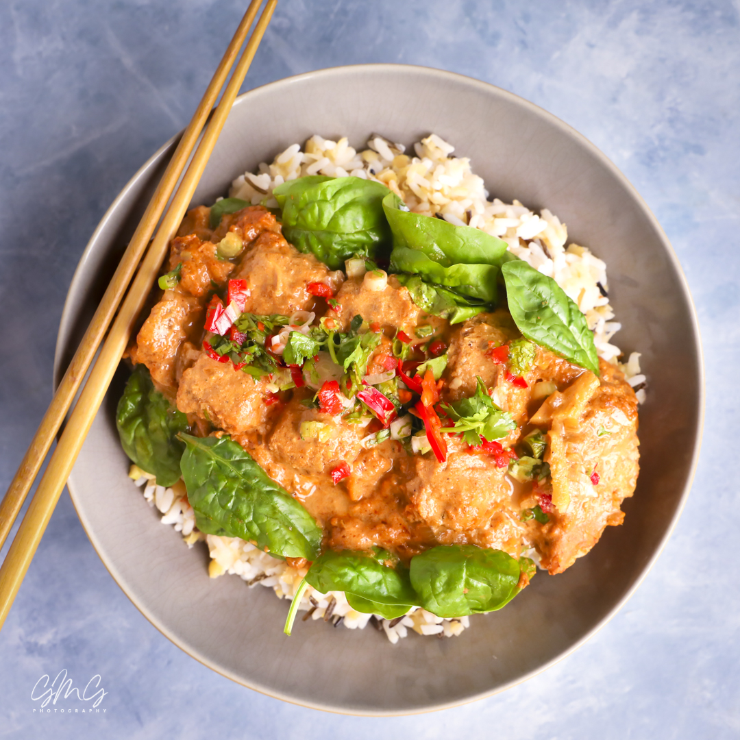 A Mouthwatering Vegan Katsu Curry