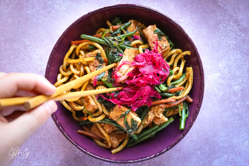 stir-fry-vegetables-tofu-udon