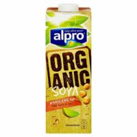Alpro Organic Soya Drink, 1L