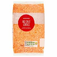 Morrisons Wholefoods Red Split Lentils, 500g