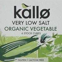Kallo Low Salt Vegetable Stock Cubes - 15 x 60g