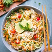 Thai Green Papaya Salad: A Scrumptious Vegan Recipe