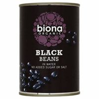Biona Organic Black Beans (Pack of 12)