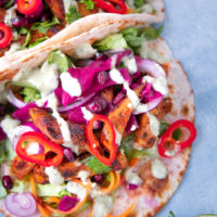 Fresh & Fragrant Doner Kebab using Vegan Oumph!