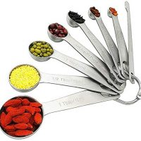 HENSHOW Measuring Spoon Set of 8 Pcs