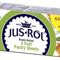 Jus-Rol Puff Pastry Ready Rolled Sheets x2 640g (Frozen)